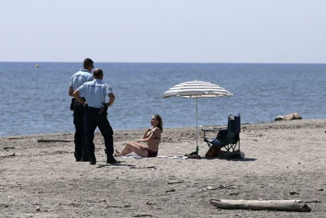Stranden Corsica afgesloten om schade wegens kilometerslange olievlek
