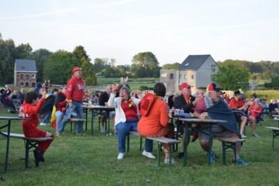 400 toeschouwers genieten samen van eerste overwinning van de Rode Duivels
