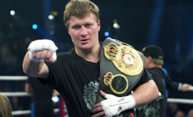 Russische bokser Alexander Povetkin kondigt einde van carrière aan na coronabesmetting