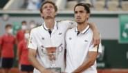 Fransen Nicolas Mahut en Pierre-Hugues Herbert winnen dubbelspel Roland Garros