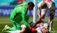 Engeland haalt opgelucht adem: sterspeler Harry Kane botst vol op de doelpaal, maar kan toch verder