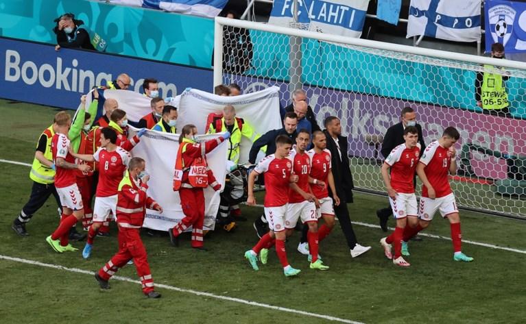 """Deense voetbalbond en makelaar geven update over toestand van Eriksen: """"Christian is stabiel en positief gestemd"""""""