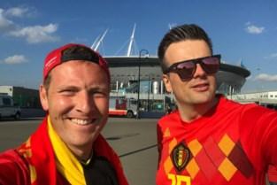 Frédérick was in Sint-Petersburg: minder supporters en toch evenveel sfeer