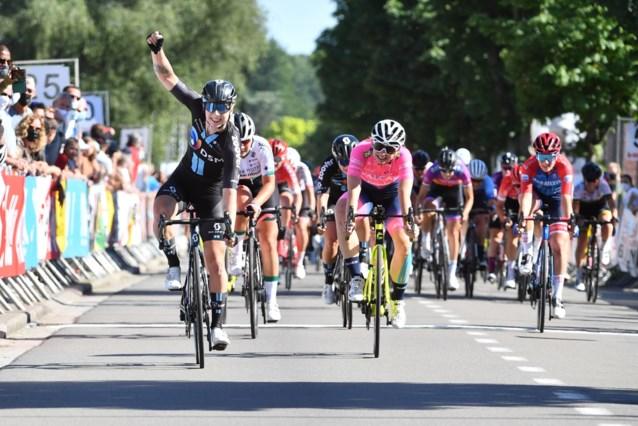 Lorena Wiebes volgt zichzelf op als winnares Flanders Diamond Tour na massasprint
