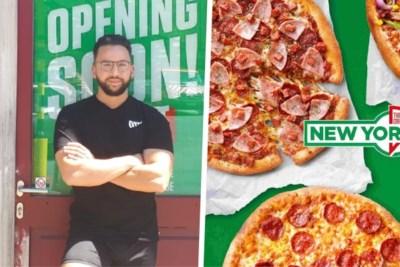 Mo (25) brengt Amerikaanse pizza's naar het 'fastfoodkruispunt' van Gent
