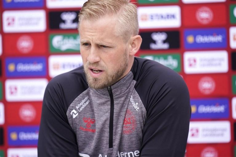 """Vriendin dacht dat Christian Eriksen overleden was, tot doelman verlossende woorden sprak: """"Maar doorspelen, dat was verkeerd"""""""