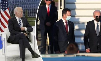 LIVE. Volg hier het bezoek van Biden aan België