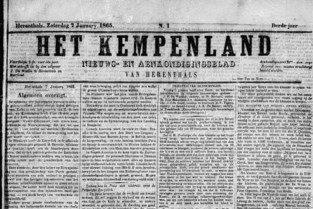 Archief digitaliseert 130 jaar Het Kempenland