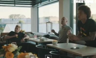 """Zo beleefden Kevin De Bruyne en Axel Witsel de EK-zege van de Rode Duivels tegen Rusland: """"Ik denk offside"""""""