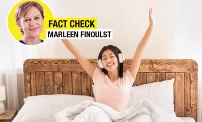 FACT CHECK. De muziek waarmee je wakker wordt, beïnvloedt je ochtendhumeur