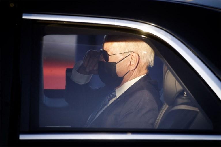 Air Force One is geland: Amerikaanse president Joe Biden komt aan in België