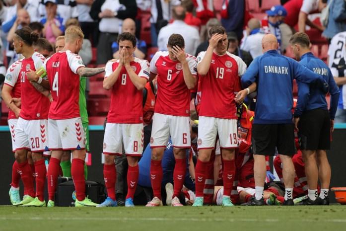 """Waarom de Denen beter niet meer gespeeld hadden na drama met Eriksen: """"Voetbal is denkwerk, maar emoties halen het na zo'n trauma"""""""