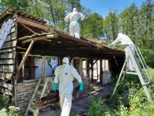 Natuurpunt sloopt zonevreemde weekendhuisjes in Bosbeekvallei