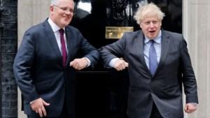 """""""Vrijhandelsdeal tussen Australië en Groot-Brittannië beklonken"""""""