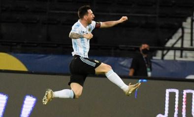 Lionel Messi viert héérlijk doelpunt met eerbetoon aan Diego Maradona (maar Argentinië mist start op Copa America)