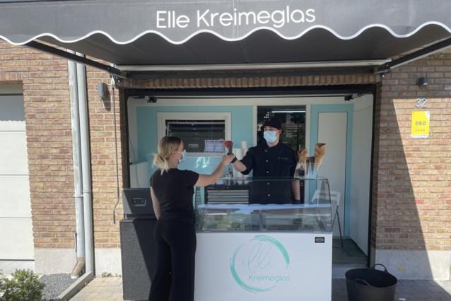 PIVA-studenten openen eigen ijsjeszaak Elle Kreimeglas