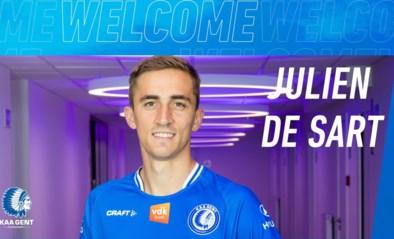 Officieel: Julien De Sart verlaat KV Kortrijk en tekent bij AA Gent