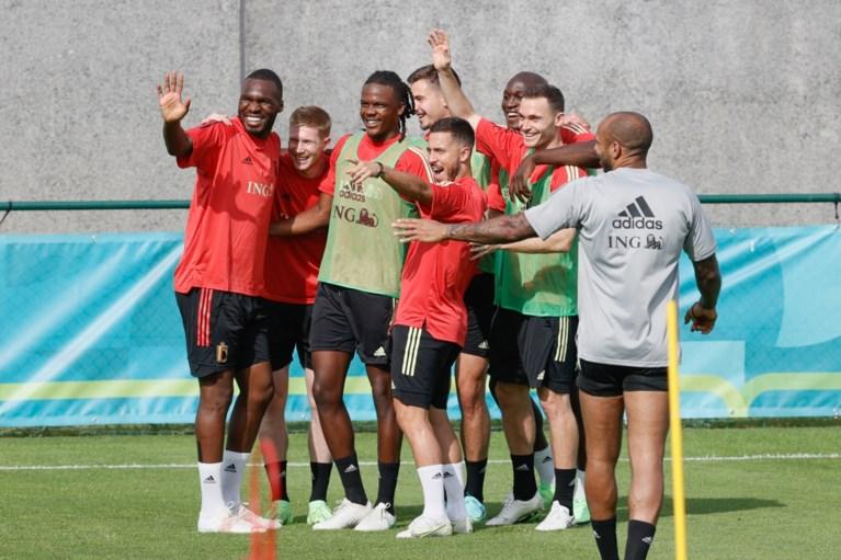 Jan Vertonghen ontbreekt op training Rode Duivels daags voor afreis naar Denemarken; De Bruyne, Hazard en Witsel wel van de partij
