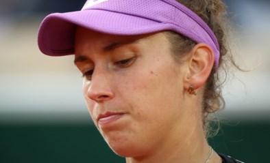 """Elise Mertens """"moet haar draai nog vinden"""" op gras na vroege uitschakeling, maar: """"Ik speelde zeker niet slecht"""""""