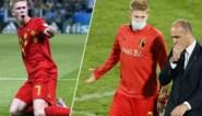 Kevin De Bruyne is op meerdere posities een wereldspeler: bondscoach Roberto Martinez kan hem op vijf manieren gebruiken
