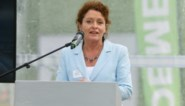 """Minister Lydia Peeters: """"Vooruit met Oosterweelwerken, maar niet ten koste van volksgezondheid"""""""