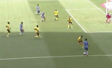 1, 2, 3 , 4: Japans talent van Real Madrid poort vier (!) tegenstanders bij doelpunt