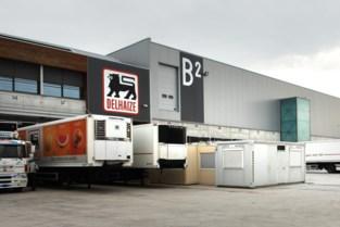 Staking bij distributiecentrum dat alle 830 winkels van Delhaize bevoorraadt: vrachtwagens blokkeren toegang