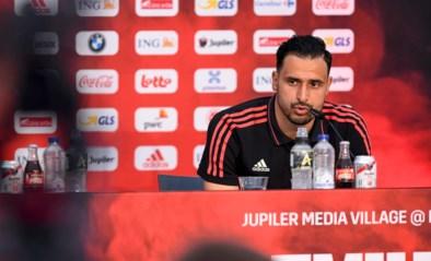"""Nacer Chadli reageert op rivaliteit met topfavoriet:""""Er heerst geen anti-Frankrijk-gevoel in de groep"""""""