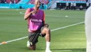 """Romelu Lukaku klapt mee voor Eriksen, maar kent voorts geen genade met Denemarken: """"Ik stuur Christian na de match wel een berichtje"""""""