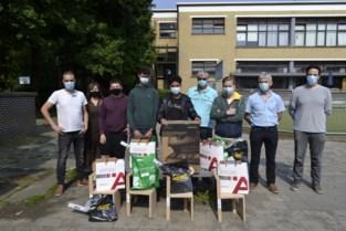 Student schrijnwerker Mylo van BuSo Kristus Koning wint Vlaamse Houtproef in Antwerpen