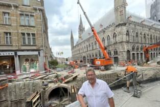 """Ieperlee weer proper dankzij 'spectaculaire bouwputten': """"Binnenstad is een grote werf, maar er is beterschap in zicht"""""""