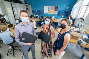 PM Group schenkt computers aan OLVP Bornem