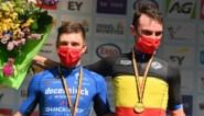"""Yves Lampaert is Belgisch kampioen tijdrijden: """"Ik zie Remco een beetje als mijn kleine broer, dat ik hem hier klop is een superprestatie"""""""