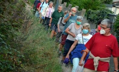 Davidsfonds op stap met snelle en tragere wandelaars