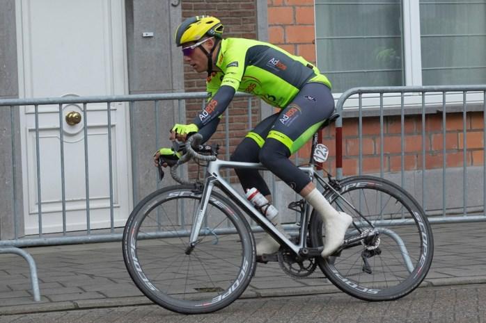 """Dimitri Peyskens keert met gehavende knie weer uit Slovenië: """"Ik heb niettemin zin om er in te vliegen"""""""