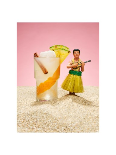 Vakantie in een glas: zo maak je deze tropische Aloha Billie