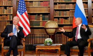 Ontmoeting tussen Joe Biden en Vladimir Poetin van start gegaan