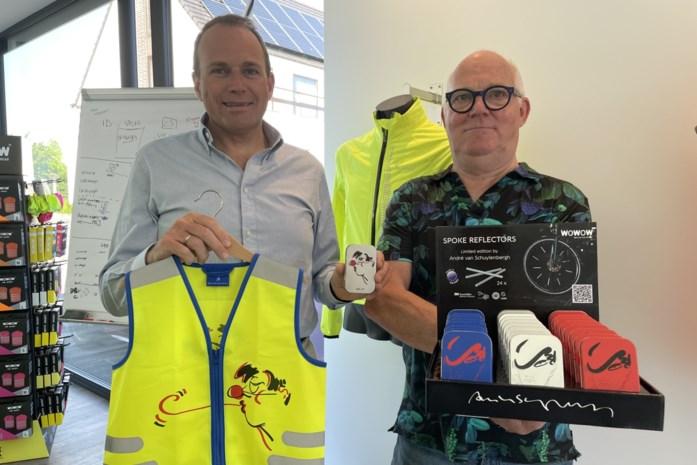"""Kunstige reflectoren maken fietsers """"op een mooie manier"""" beter zichtbaar"""