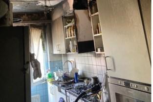 Keukenbrand tijdig opgemerkt door bewoners