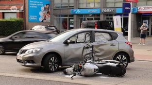 Motorrijder in levensgevaar na botsing
