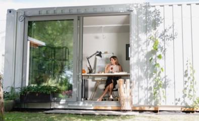 Een kantoor bouwen in je tuin als oplossing voor thuiswerk: mag dat zomaar? En hoeveel kost zoiets?