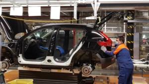 Fabriek Volvo Car Gent week plat door chipstekort