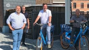 Gemeente Haacht opent nieuwe Blue-bikelocatie met acht deelfietsen aan station