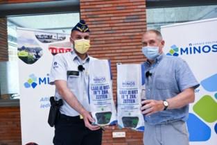 Politiezone Minos gooit broodzakken in de strijd tegen cybercriminaliteit