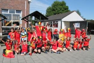 Basisschool De Kruipuit is in de ban van Rode Duivels-gekte