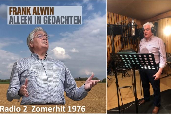 """Niets dan lovende reacties op opgefriste zomerhit van Frank Alwin (71) en toch is er ontgoocheling: """"Jammer dat net die zender het niet wil draaien"""""""