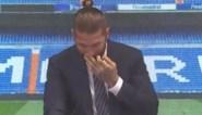 """Sergio Ramos barst in tranen uit bij afscheid van Real Madrid: """"Het was onvermijdelijk dat ik emotioneel zou worden"""""""