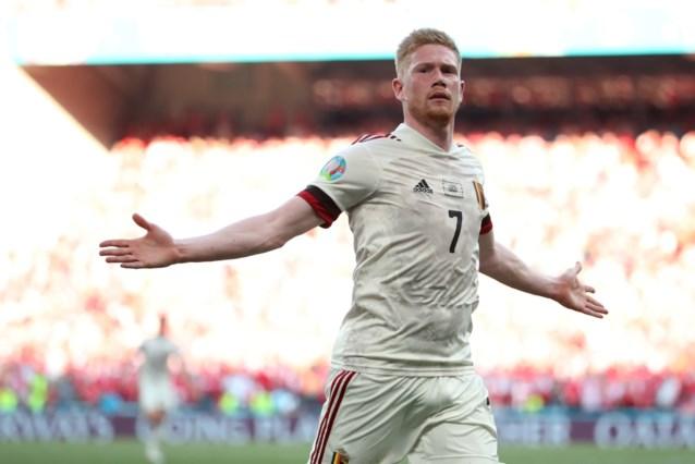 Fenomenale Kevin De Bruyne bezorgt België met goal en assist bij wederoptreden de zege tegen Denemarken