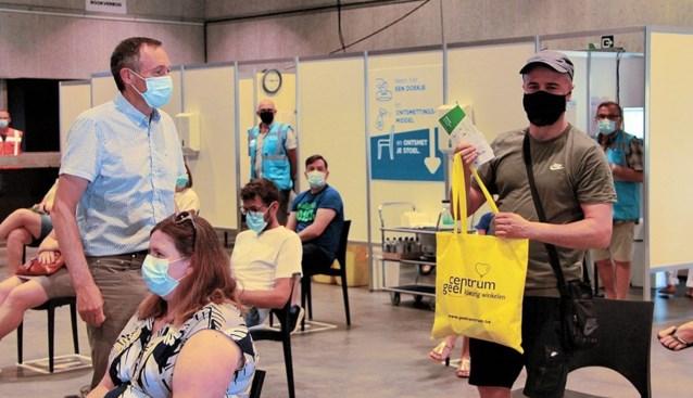 50.000ste vaccin toegediend in De Waai in Geel