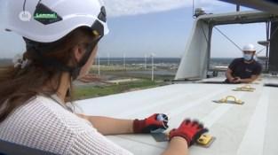 Zes nieuwe windmolens voor Kristalpark Lommel
